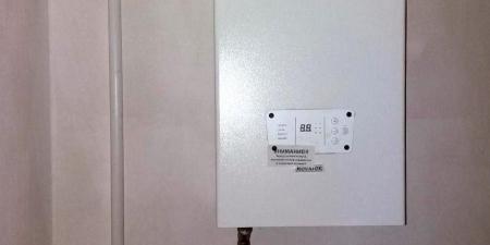 Монтаж электрического котла без доп. оборудования