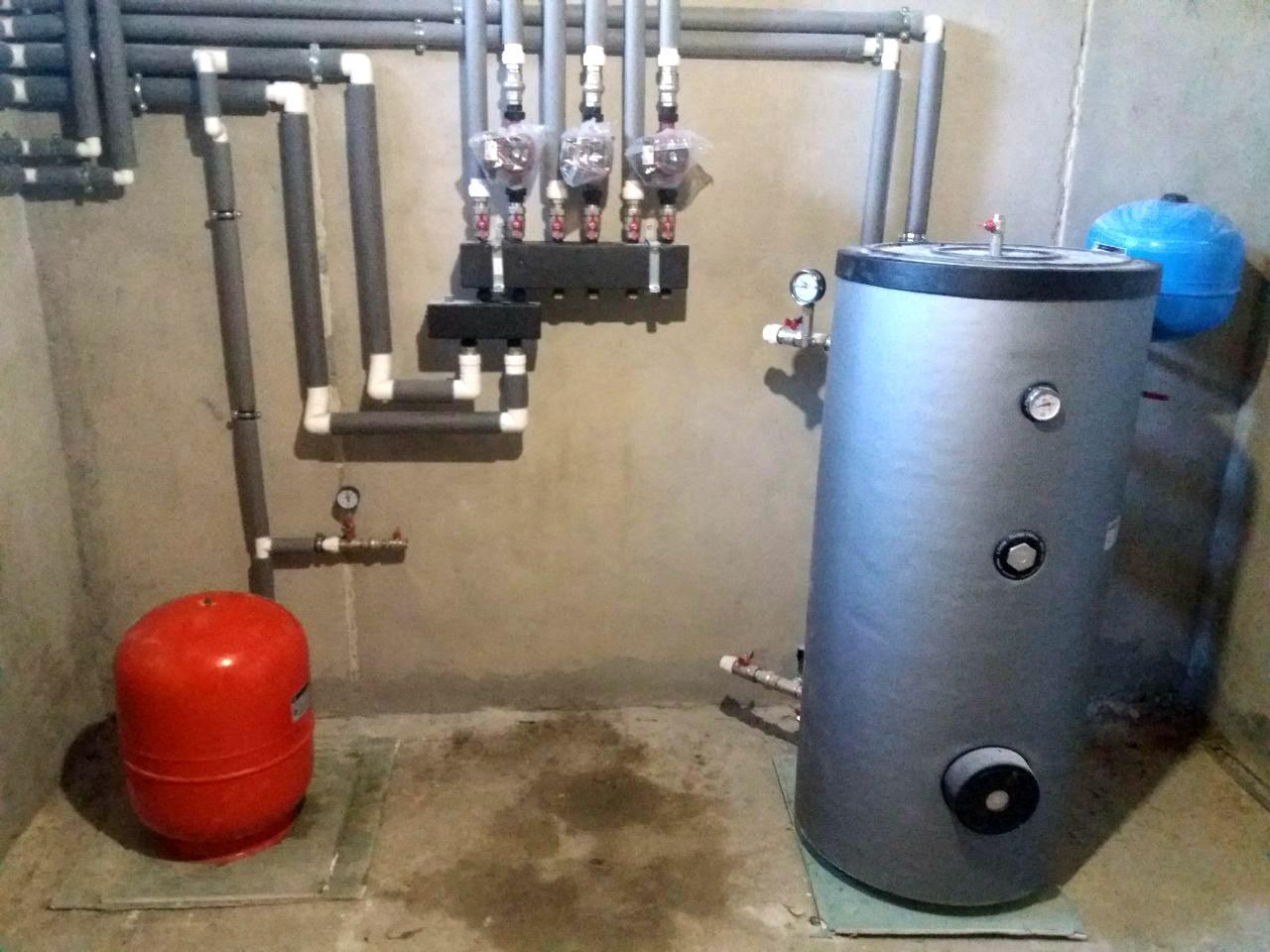 Давление в системе отопления загородного дома