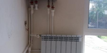 установка радиатора Симферополь