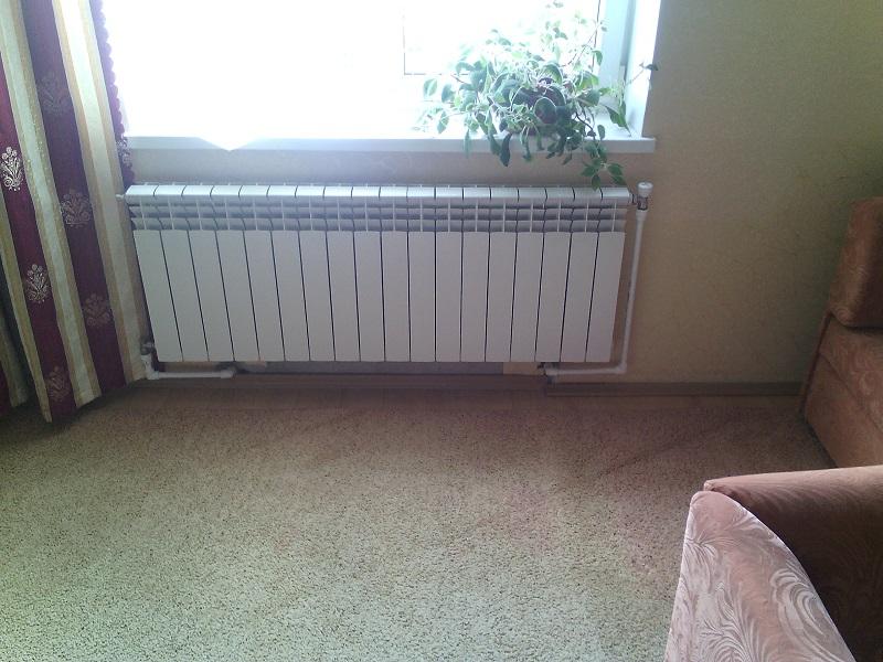 Самотечное отопление частного дома